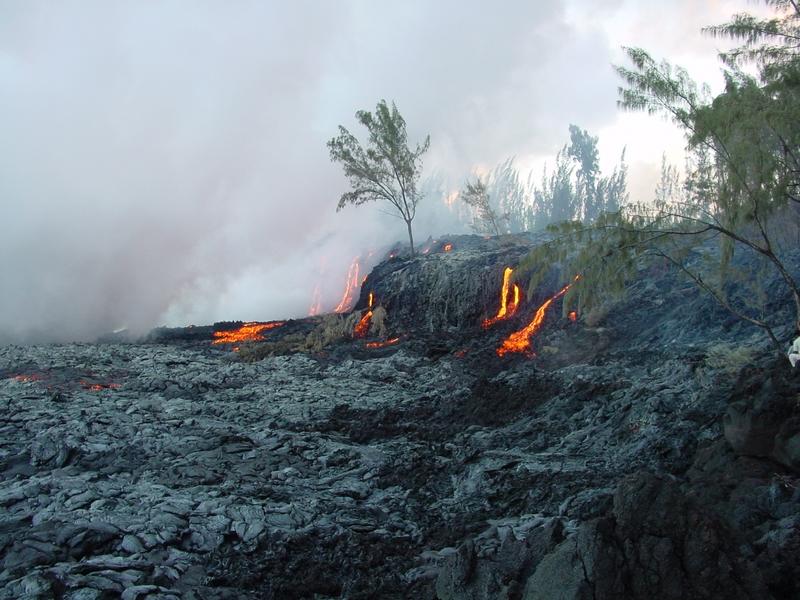 Cascades de feu