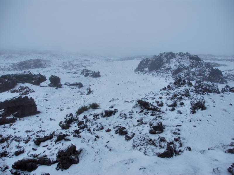 Neige à La Réunion