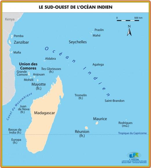 Sud ouest ocean indien